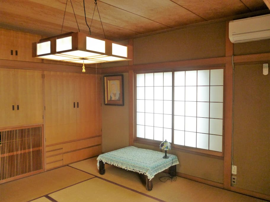Bed room No.2 (2nd floor, Japanese room for 3 people)