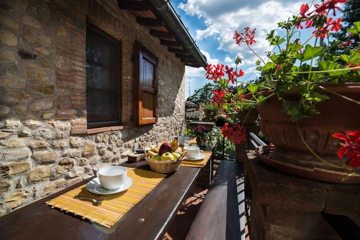 Spazioso Agriturismo nel Chianti-Toscana