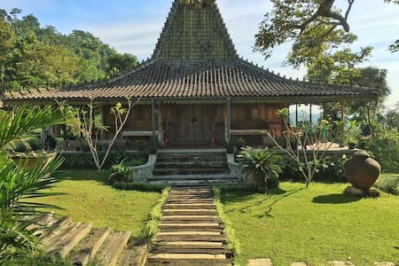 Antique Javanese House - Cijeruk - บังกะโล