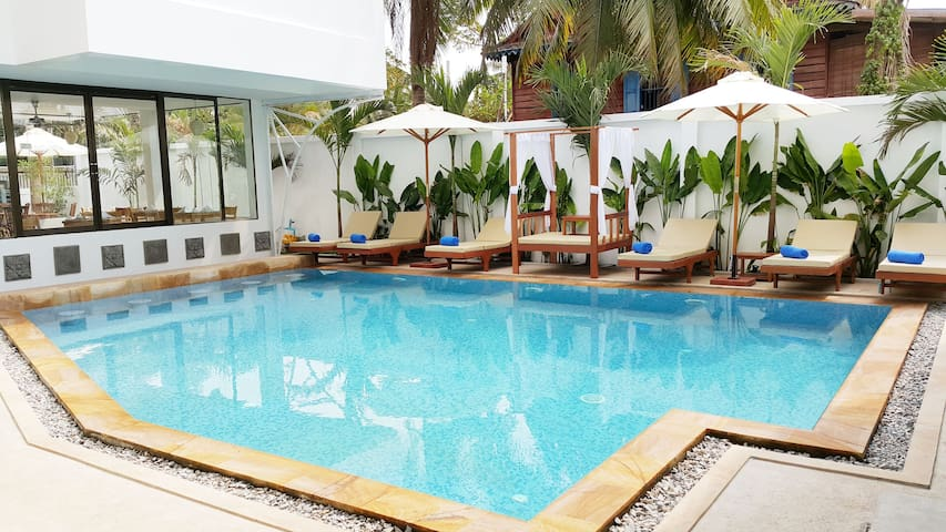 Honey Moon Package : Chez Moi Suite - Krong Siem Reap - Bed & Breakfast