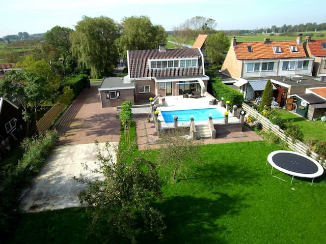 Luxury room near Amsterdam - Westzaan - Villa