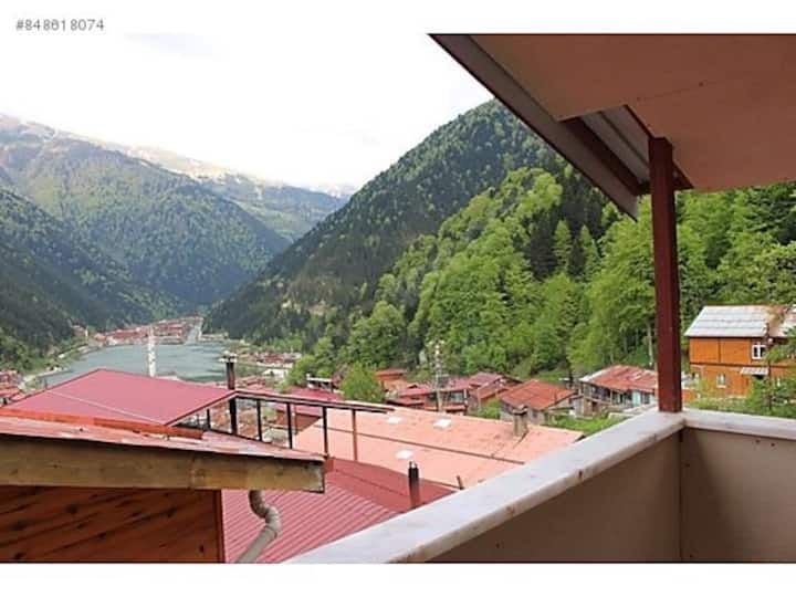 Uzungöl Dayre S+1 1st floor with panoramic balcony