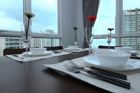 V) New 2 Rooms Suite In George Town_Nice View - Osakehuoneisto