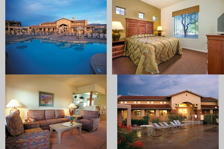 1 Bedroom Wyndham Rancho Vistoso, AZ - Oro Valley - Daire