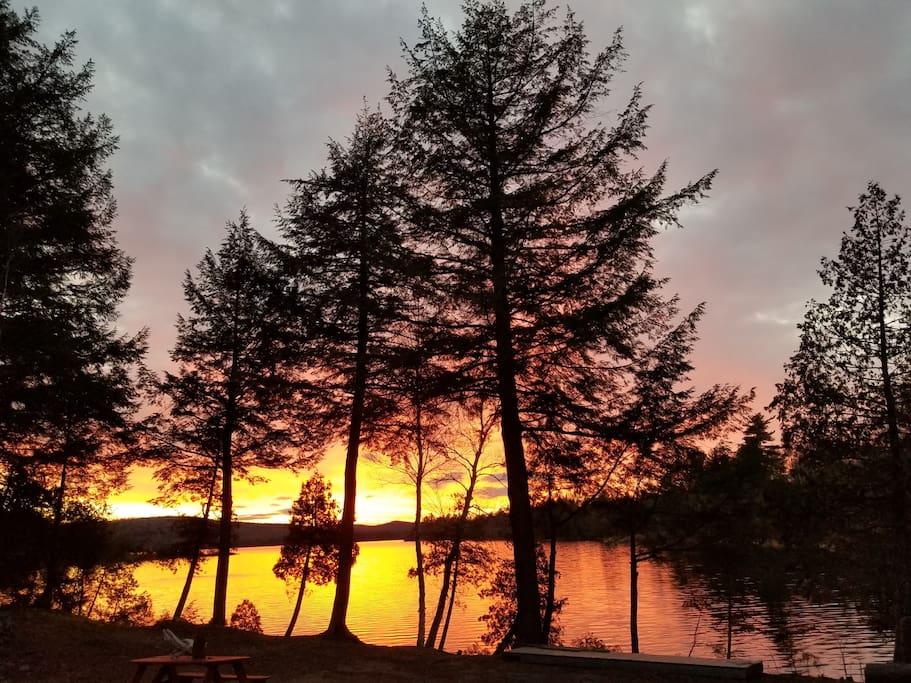 Breathtaking Sunrise's, and Sunset's.