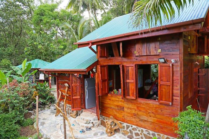 Kashima wooden bungalow at Citrus Creek Plantation
