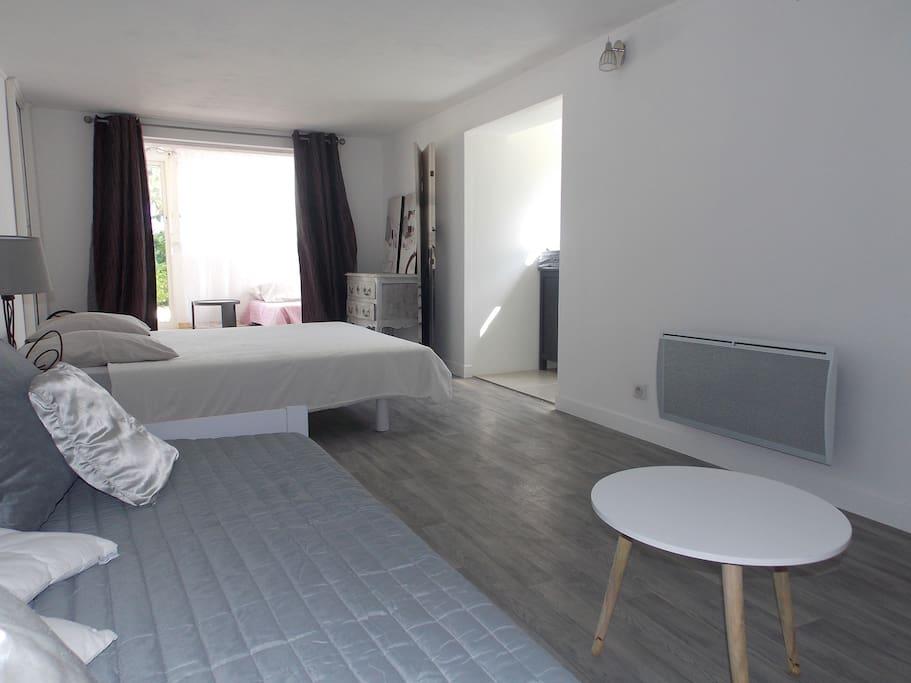 Chambre de 18 m²