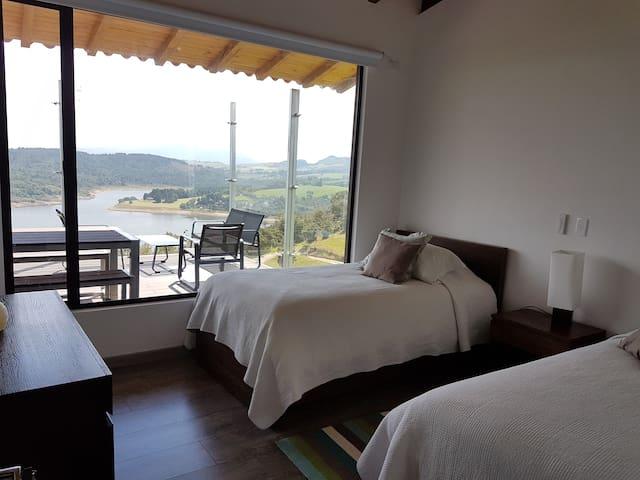 Segunda habitación, dos camas sencillas