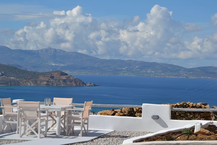 Eye of Naxos sky. Unique view and privacy.