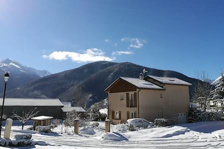 ☀ Gîte pyrénéen, plein sud, GR, ski - Ascou