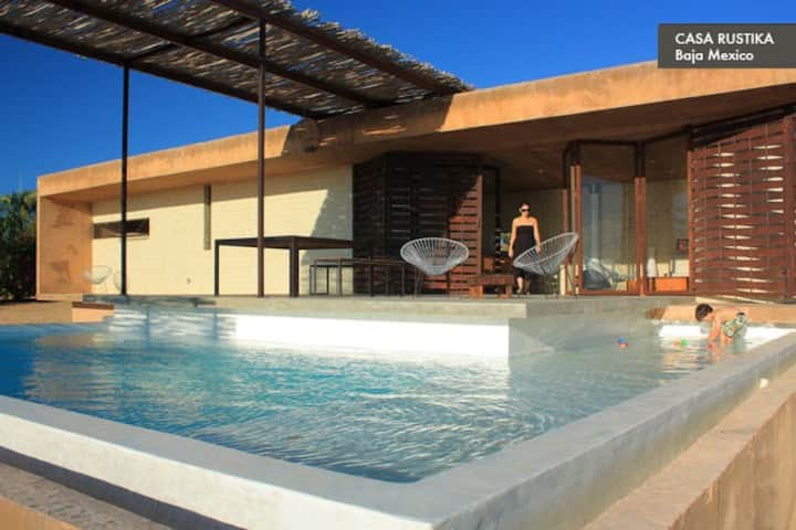 Todos Santos Beach House with Pool
