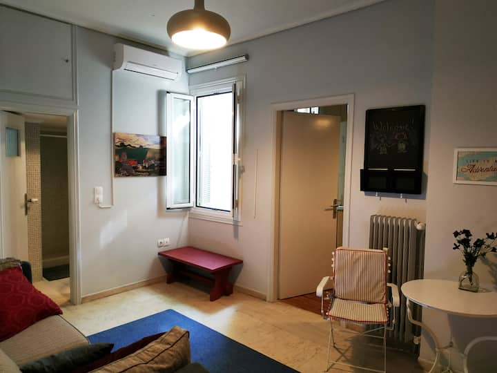 Piraeus, Athens 10' From Port, Beautiful Apartment