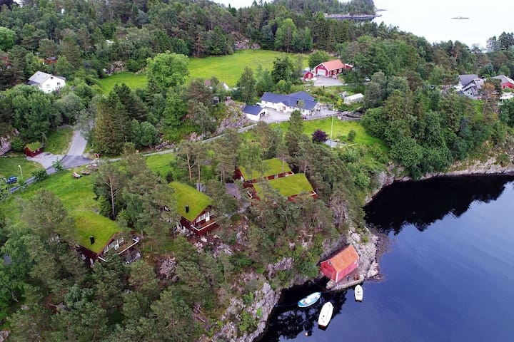"Olsnes Resort-""Ingeborgbu"" 25 min from Bergen City"