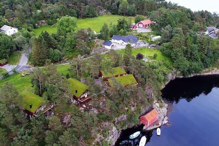 """Olsnes Resort-""""Ingeborgbu"""" 25 min from Bergen City"""