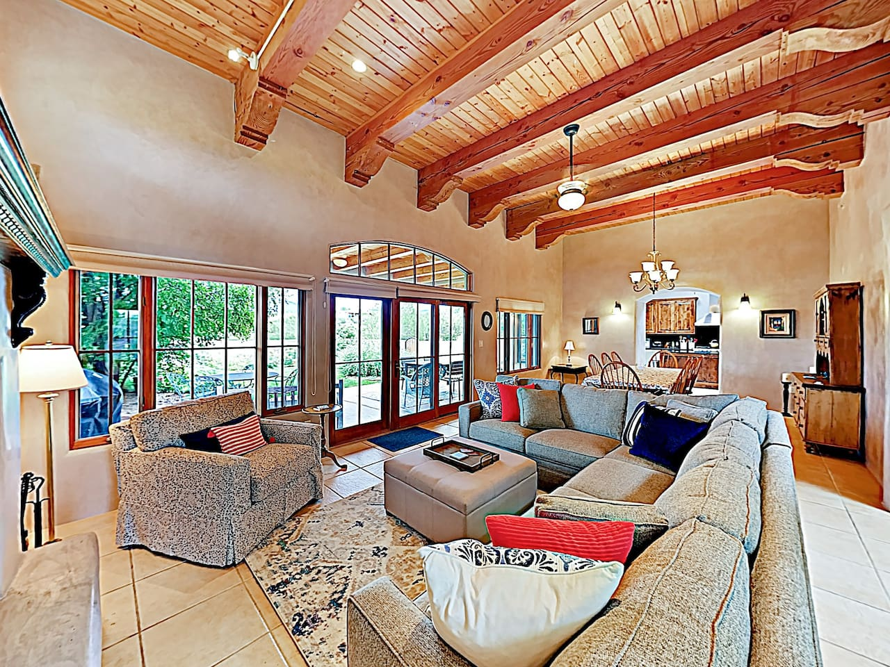 Welcome to Santa Fe! This spacious home is professionally managed by TurnKey Vacation Rentals.