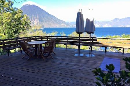 CHELCHIC'ABAJ House - Lake Atitlan - Cerro de Oro