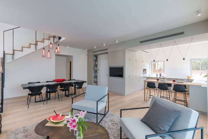 Live like Royalty in TLV Duplex
