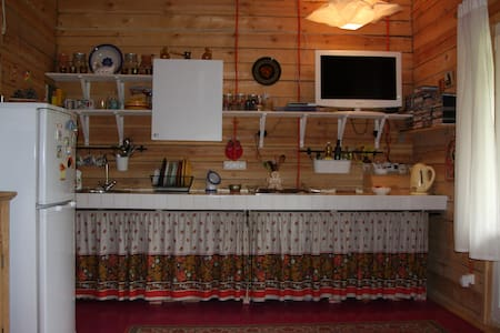 1 этаж теплого двухэтажного деревянного дома - Byt