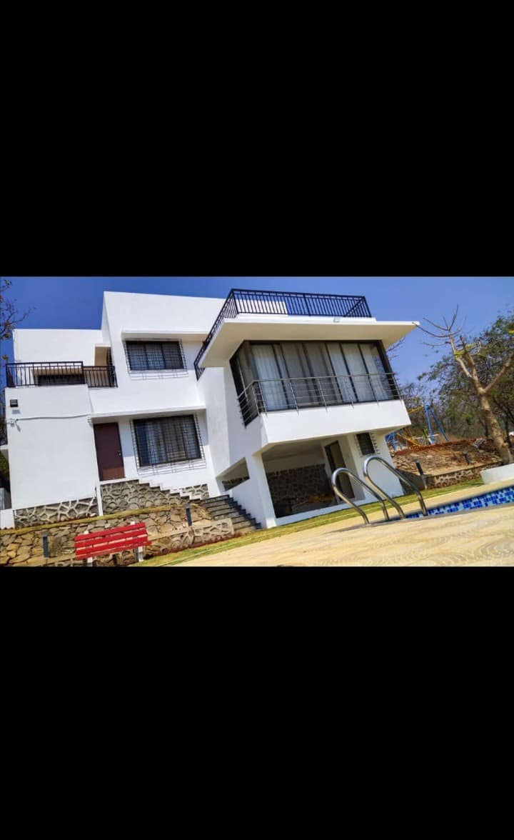 Waterfall Touch 4 BHK AC Villa With Private Pool
