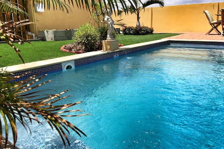 VillaSol w/pool, paradise awaits you! - Noord - Apartmen
