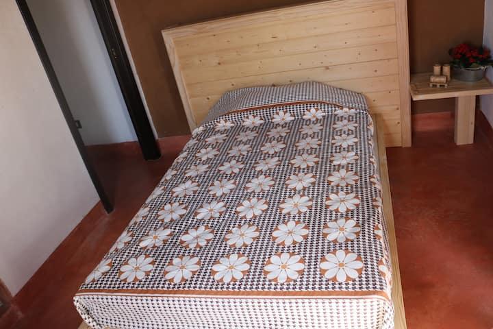 Camera arancione B&B Casa Mattia
