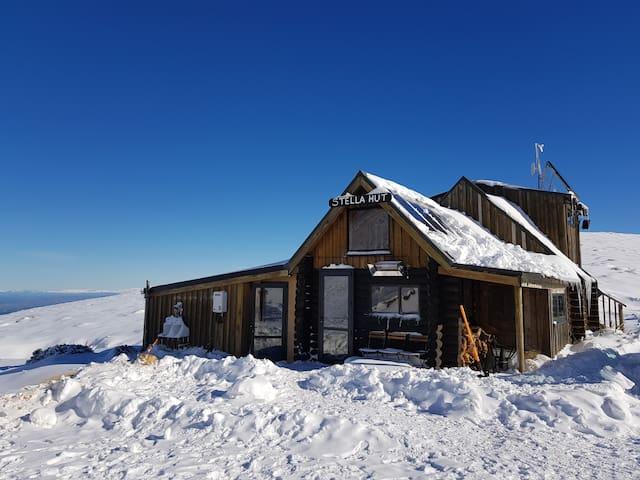 Mt Lyford - Stella Hut Bunk Room