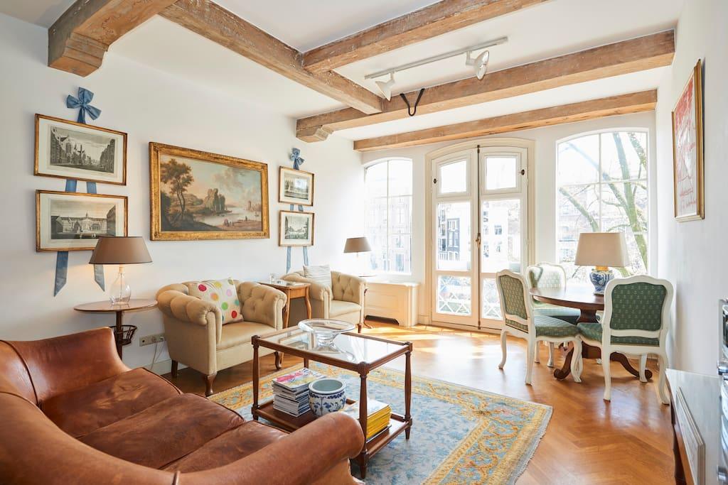 Singel canal studio appartamenti in affitto a amsterdam for Amsterdam appartamenti centro