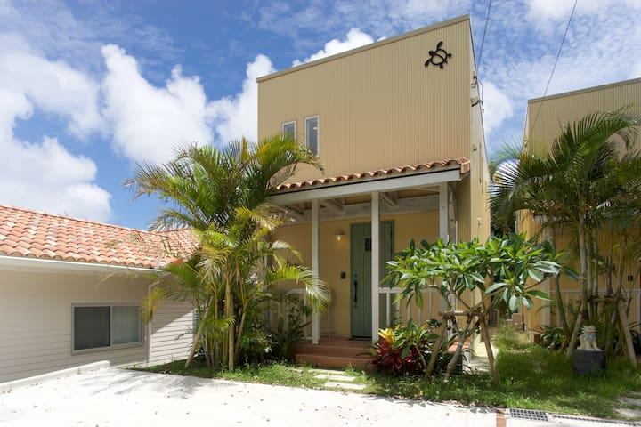 New Hawaiian style ** Cozy house