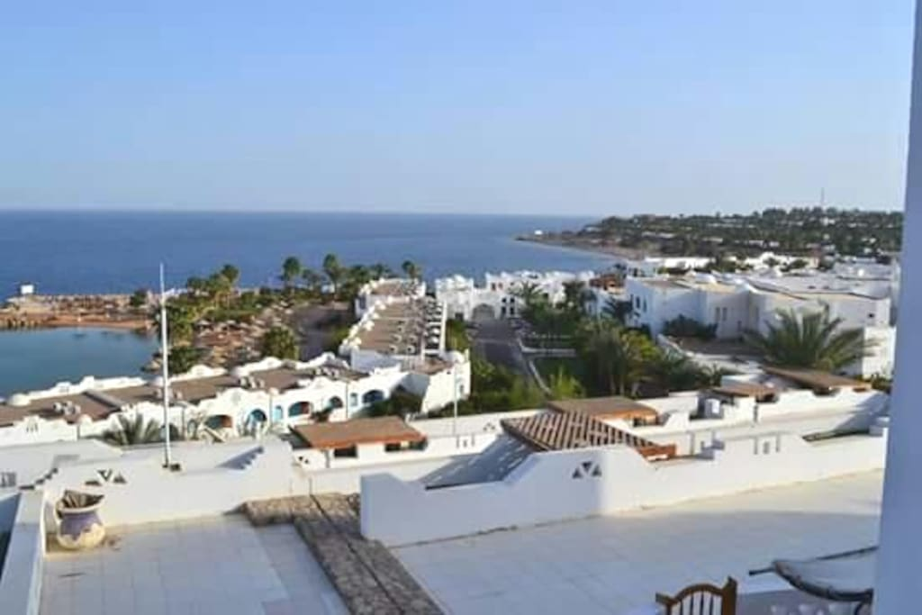 Privet terrace ,with a mazing panoramic view