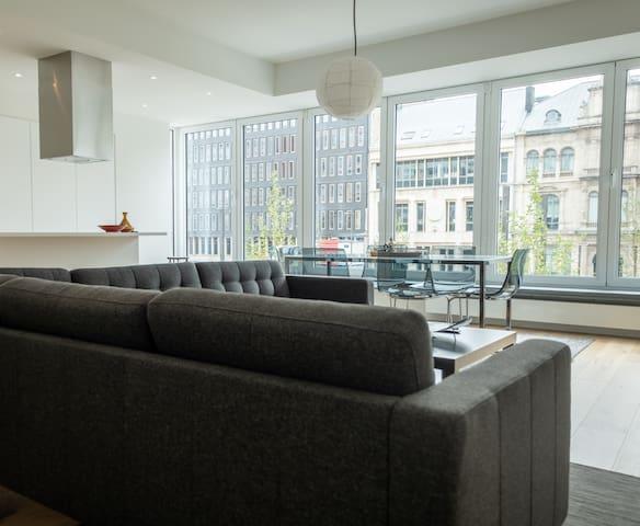Spacious & modern apartment in Antwerp's centre