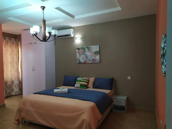 Serene Spacious Room +WiFi near Lekki Conservation