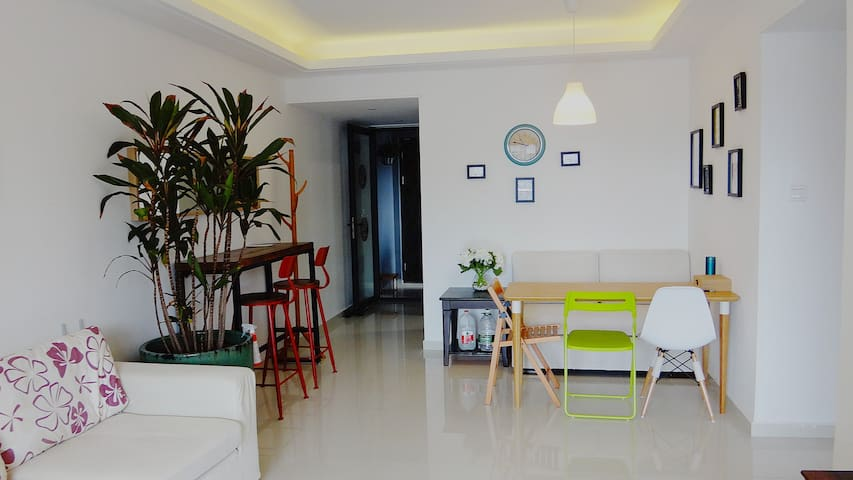 广州科学城舒适品质三居 Your Cosy Home in East Guangzhou - Guangzhou - Apartment