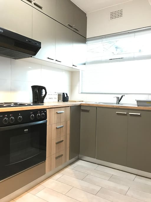 Kitchen is fully equipped for a self-catered stay