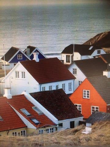 Fiskerhus med hygge. - Hjørring - Dům