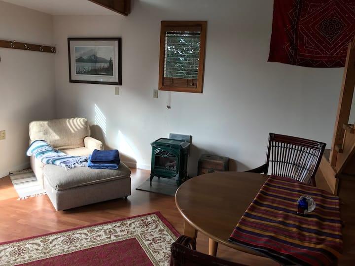 Quaint cabin with sauna