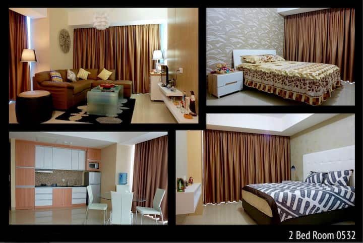 Cozy 2 Bed Rooms Apt U Residence Amazing golf view