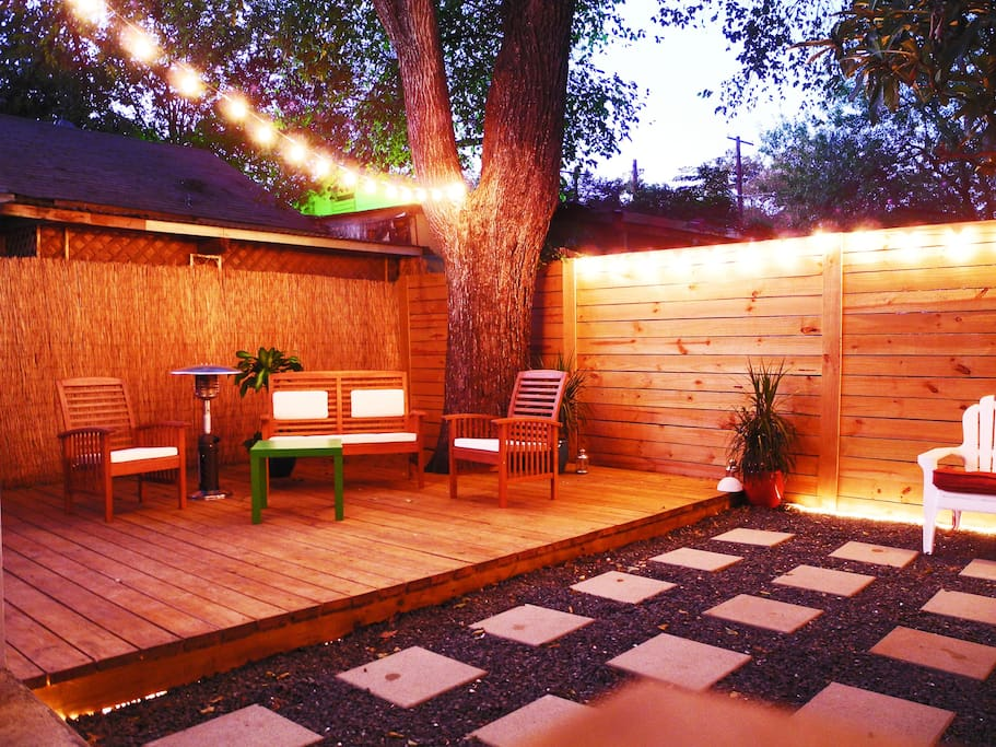 Back yard hangout area!