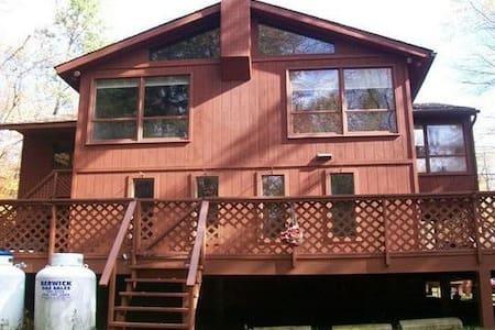 6 Bdrm River Front Pocono Home - Mount Pocono - Ház