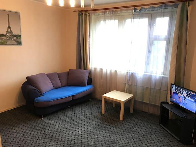 Уютная квартира на Сходненской