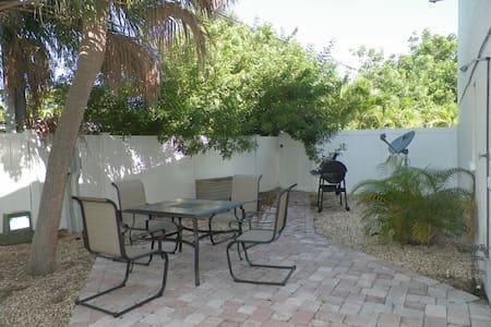 Quiet Beach getaway with patio in prime location!