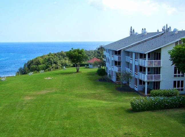 Amazing 3rd floor condo with  full ocean view!l