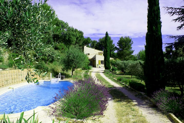 Peaceful house with pool - Provence - Saint-Mitre-les-Remparts - Rumah