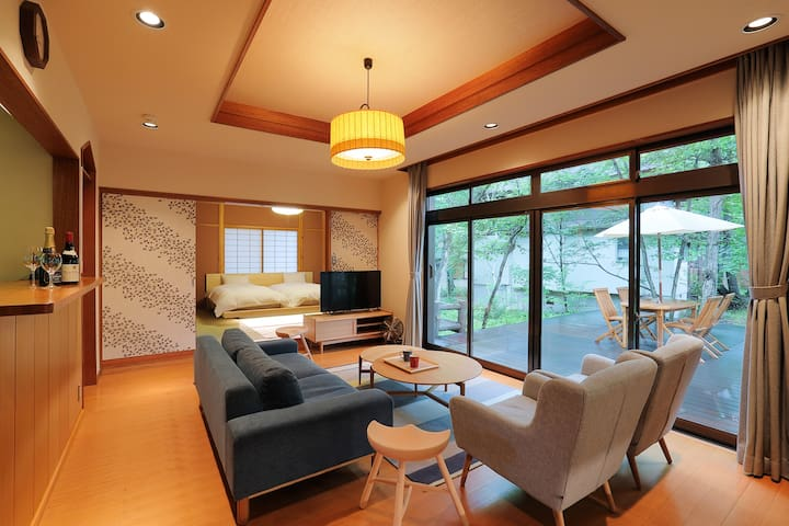 Guest House Kotsumazaka 108✿寛ぎリビングのプライベートヴィラ無料駐車場付
