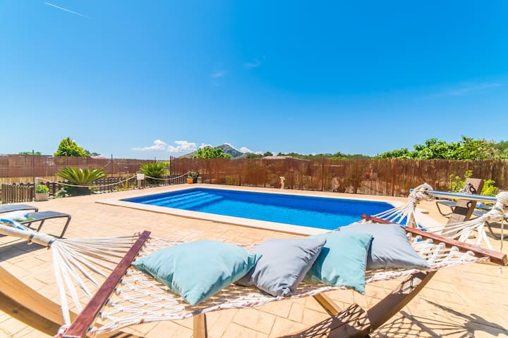 ☼Goya - Idyllic family home with pool, beach close