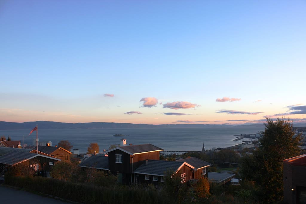 But I can promise you an excellent view of the city of Trondheim.