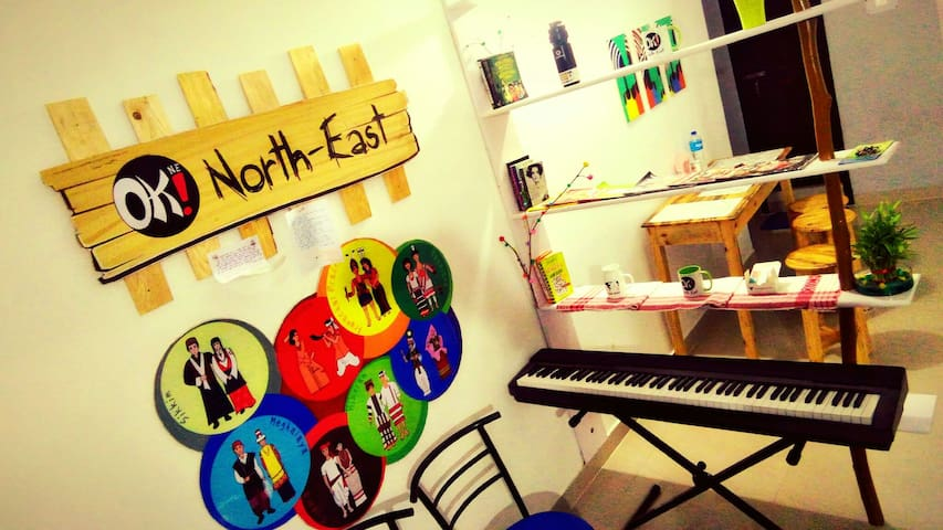 OK! North East guest house - Guwahati - Apartamento