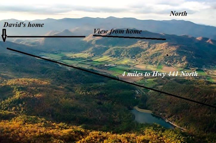 Private Home Mountain Views