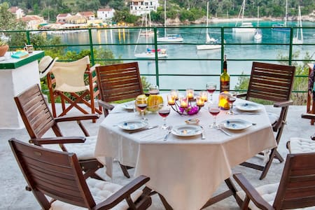 Full Of Sea House- Villa Christos in Lakka, Paxos