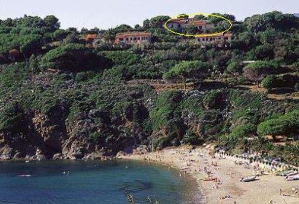 posizione dalla spiaggia