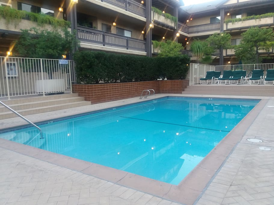 Warm swimming pool where you can do some laps to exercise profusely!!